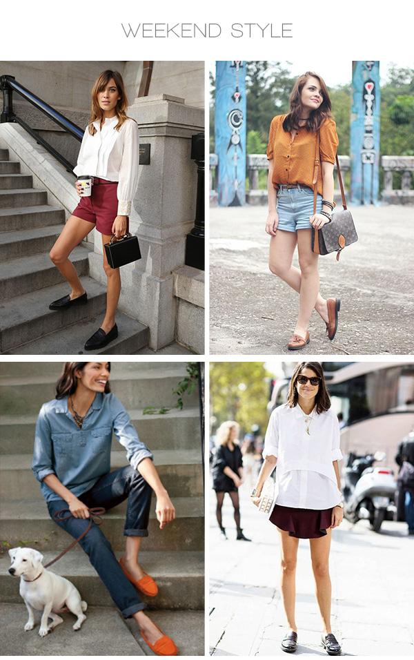 Trend alert mocassim para um look moderno