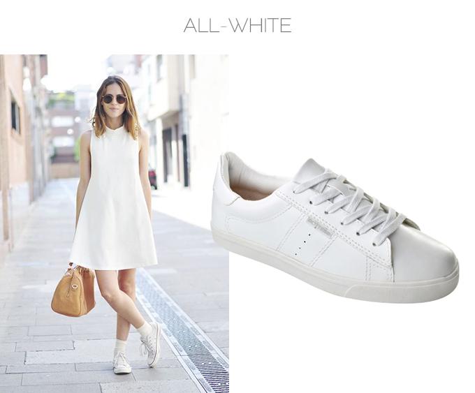 look all white tenis branco