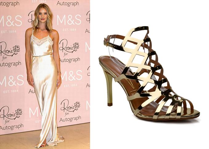 look com a sandalia vizzano glamour
