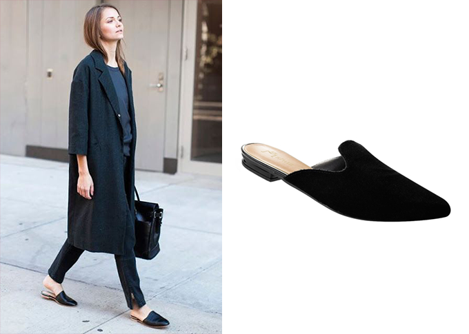 open loafer look