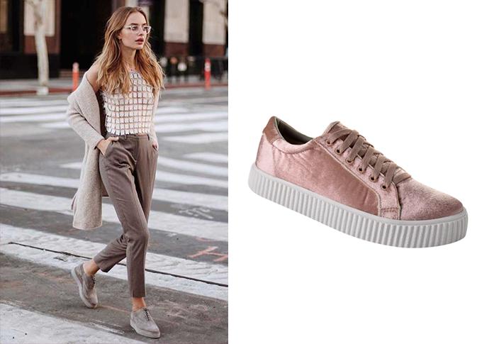 Veludo é tendência de inverno 2017 veja como a moda chegou nos sapatos de veludo