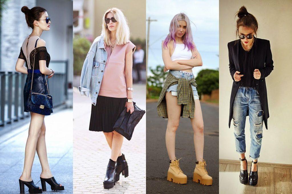 sapatos tratorados para looks cheios de estilo