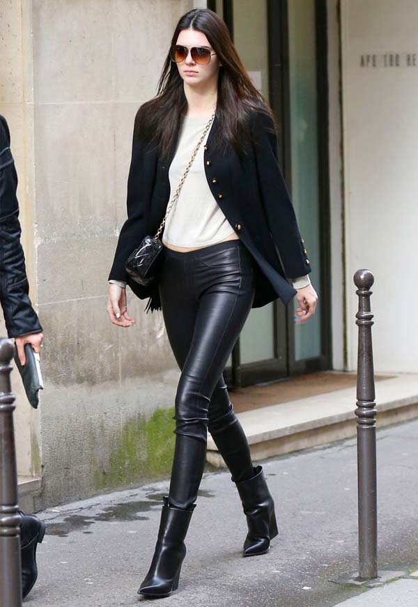 Looks com bota e jaqueta de couro: um grande coringa