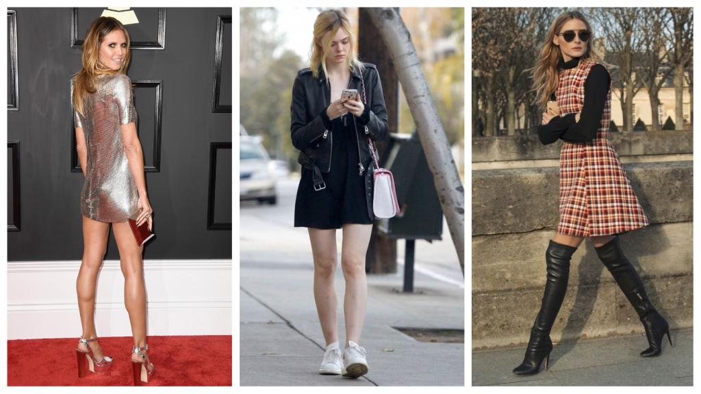 Como usar vestidos curtos em diferentes estilos