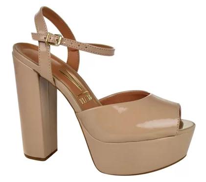 Looks com sapato e sandália salto grosso meia pata inspire-se