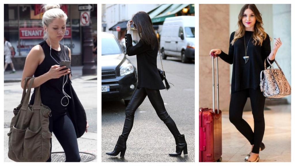 Mais de 10 looks com legging preta acerte nas escolhas