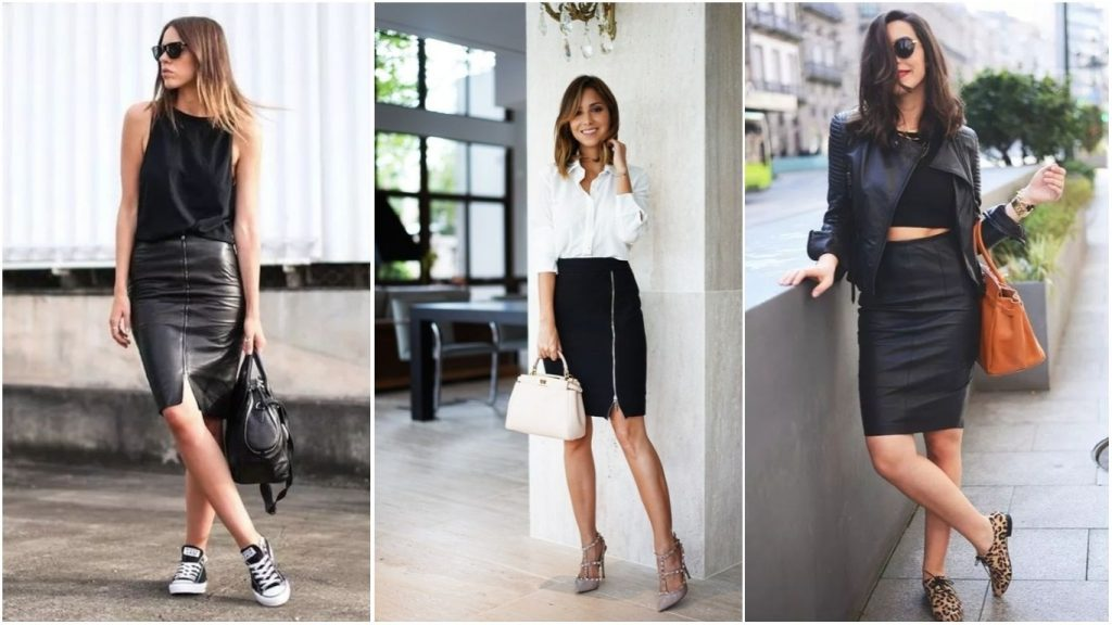 look com saia preta como acertar nas composições fashion