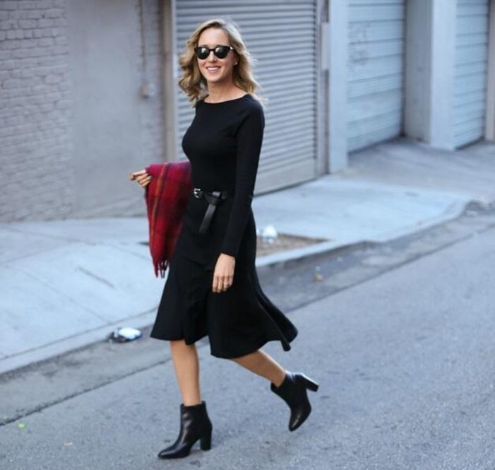 sapato preto do clássico ao street style 2
