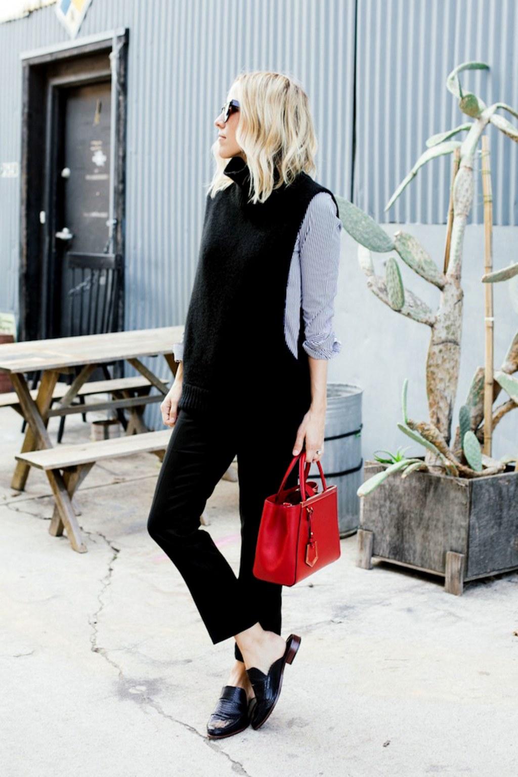 sapato preto do clássico ao street style