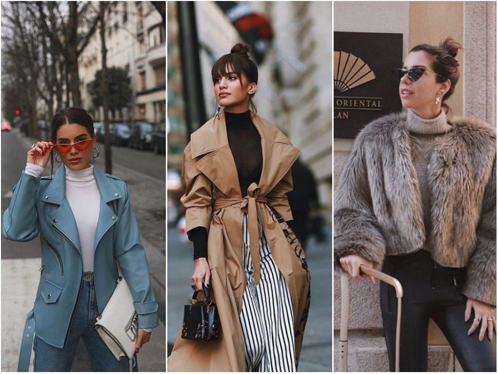Tendências inverno 2018 looks da moda