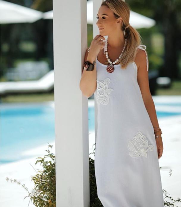 Vestido branco em 25 modelos para arrasar no verao