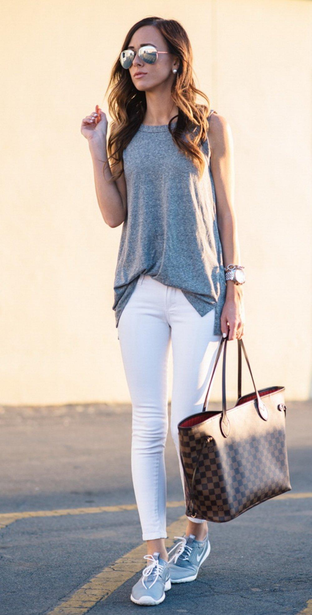 calça branca em looks cheios de estilo