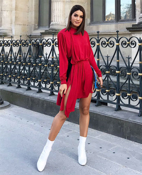 Bota feminina cano curto como compor com seu estilo