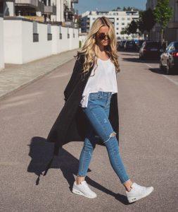 look com tênis air max branco