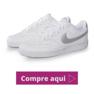 Tênis Casual Nike Court Vision Branco