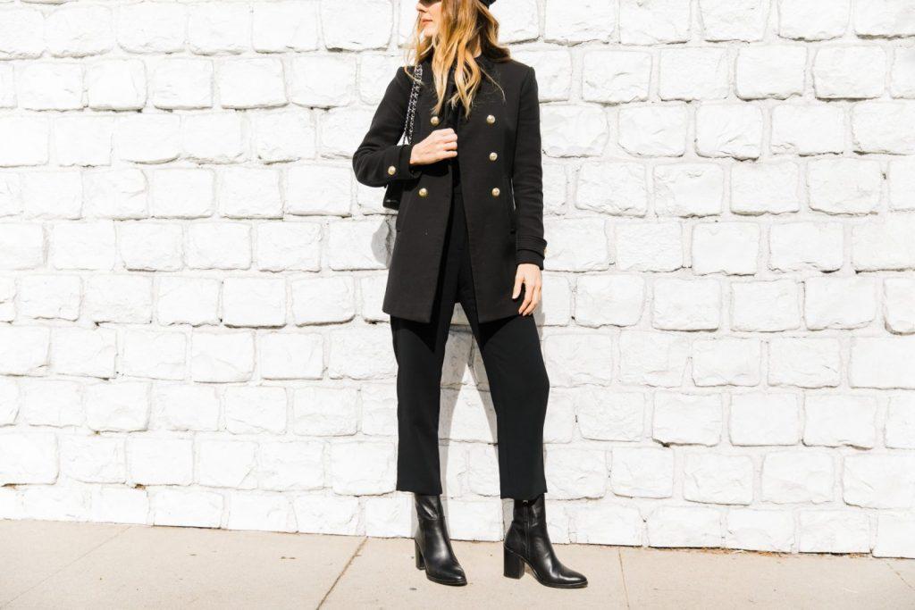 Look preto por que as fashion girls adoram