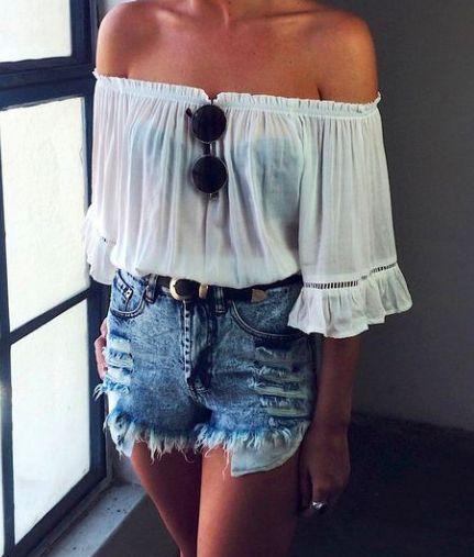 20 looks com short jeans para o verao brasileiro