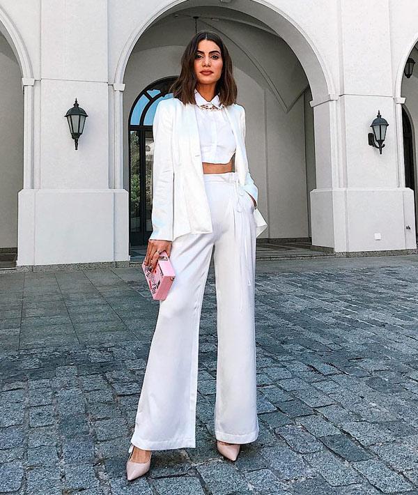 Scarpin branco aposte nesta trend 2018
