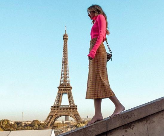 X looks das influencers na Semana de Moda de Paris