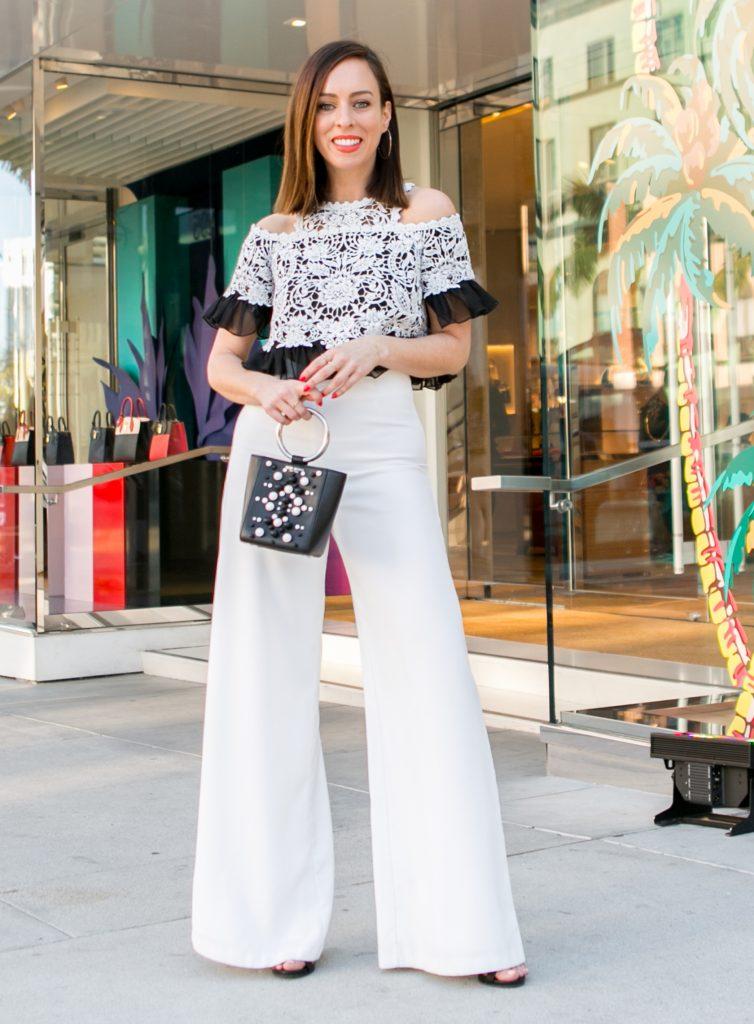 Blusa de croche em 21 looks da moda