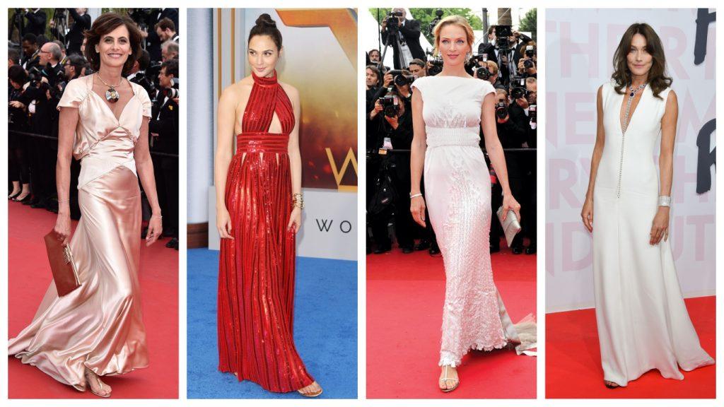 Vestidos de festa e as Glam Flats inspiracao do red carpet