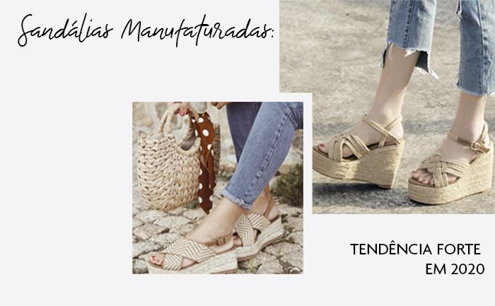Rústico e natural: as sandálias manufaturadas vão dar um toque especial no seu verão!