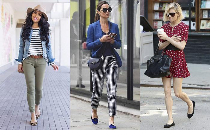 Clássico e atemporal: as sapatilhas estão em alta, e vão deixar seu look mais feminino e elegante!