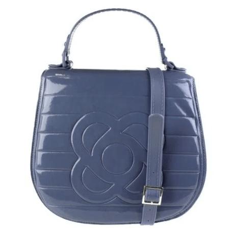 Bolsa pequena, cor azul.