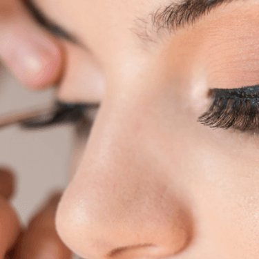 Maquiagem em olhos