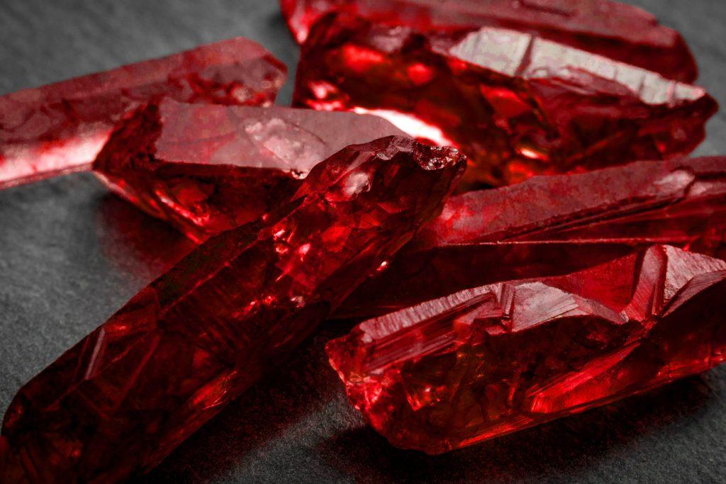 Pedra natural Rubi