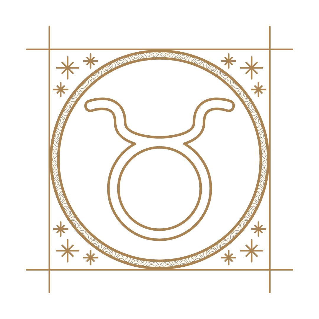 Símbolo do signo de touro