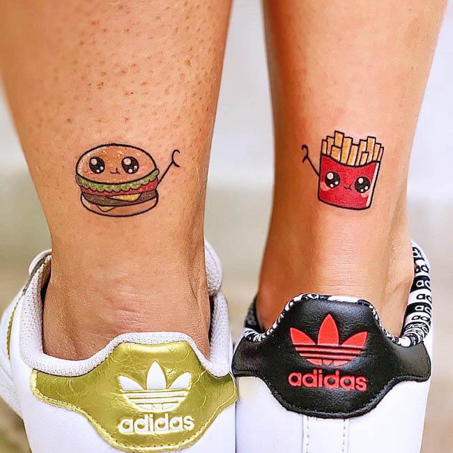 tatuagem amigas