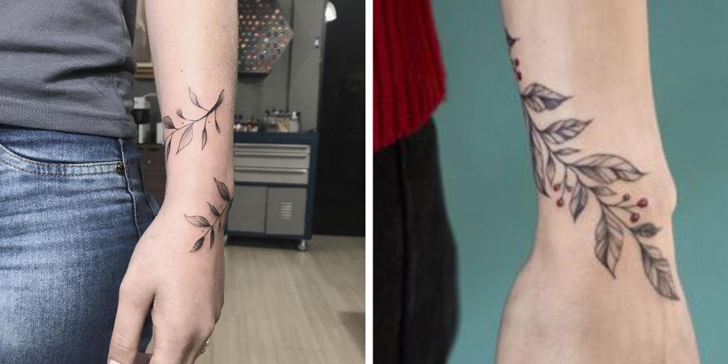 tatuagem de ramos