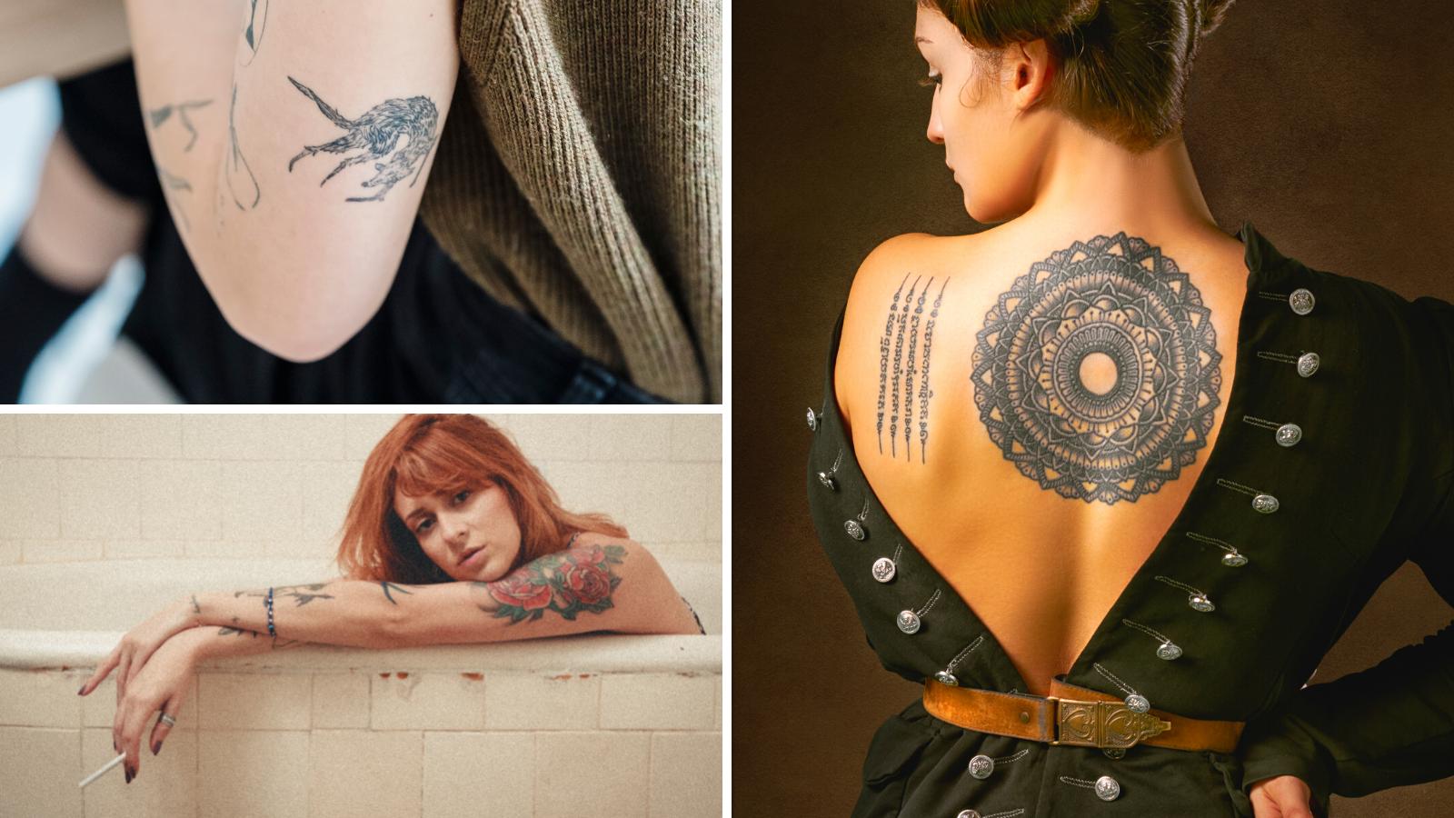 fotos de tatuagem feminina