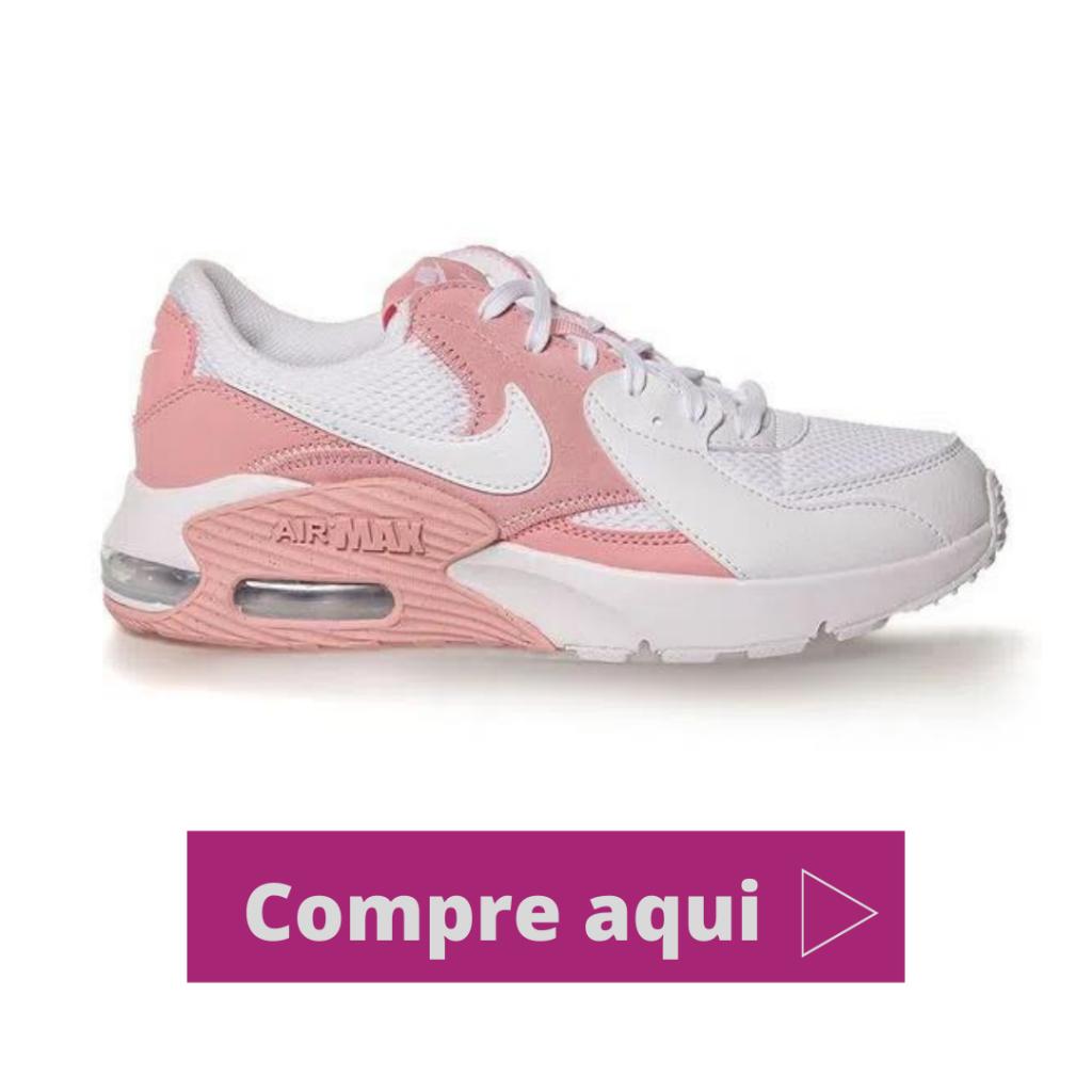 Tênis Nike Air Max Excee Pink