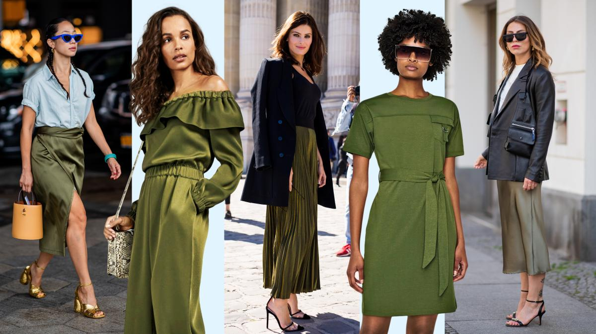 looks verde oliva