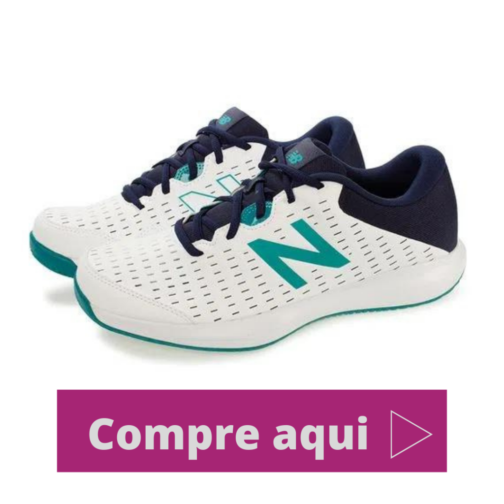Tênis New Balance MCH Branco/Verde