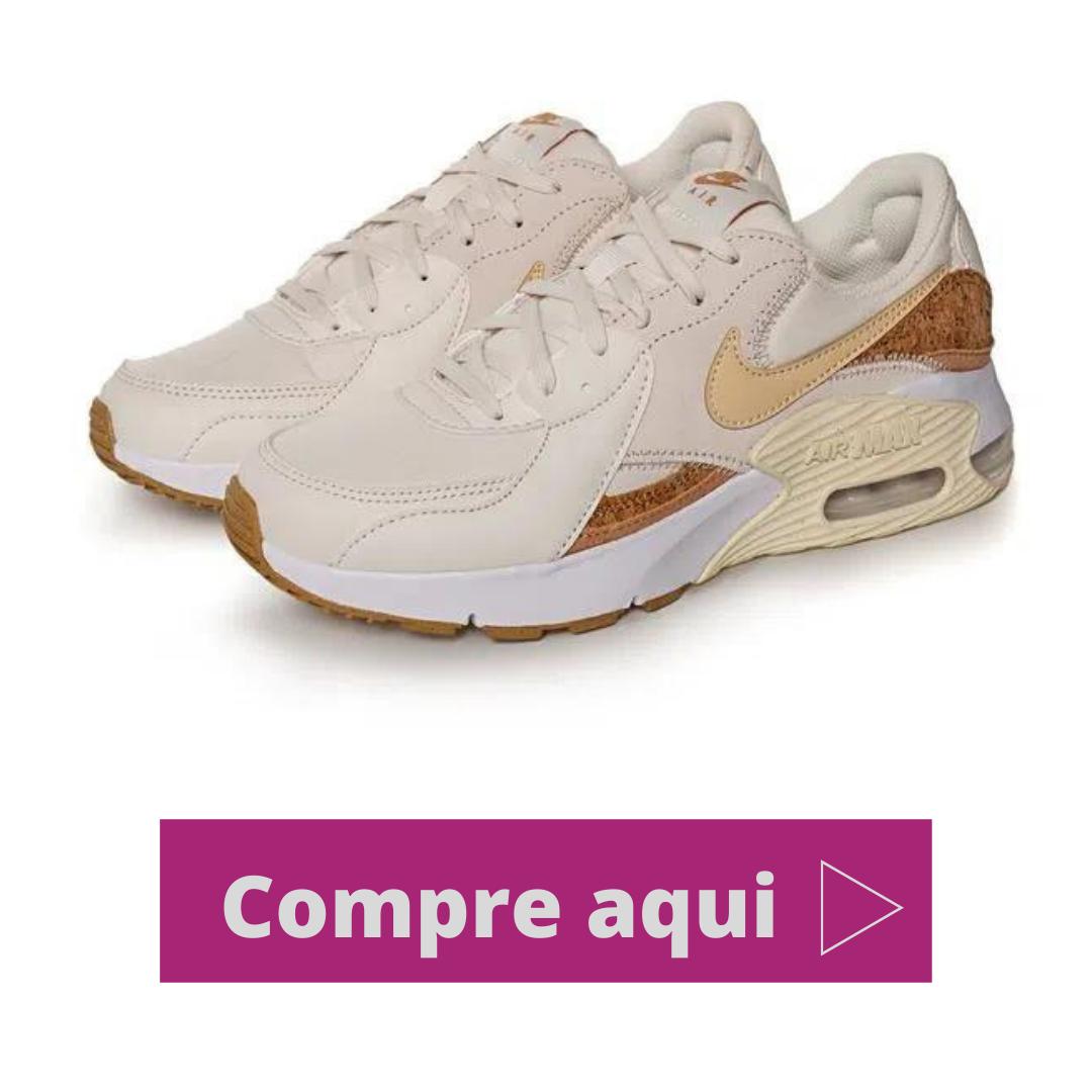 Tênis Nike Air Max Excee Bege